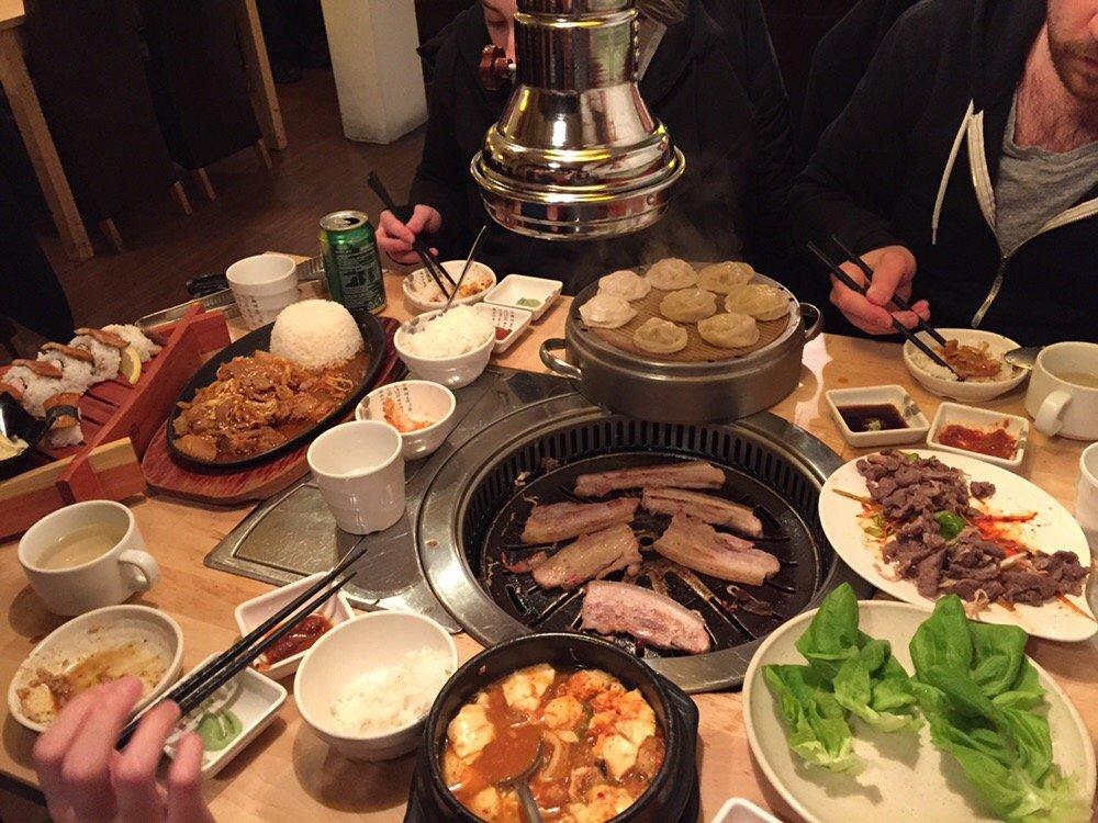 Arisu rathmines arisu korean restaurant dublin for Arisu japanese cuisine